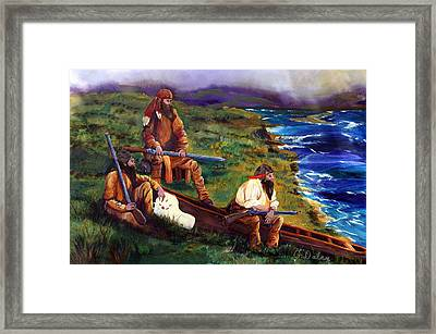 The Long Hunters Framed Print by Gail Daley
