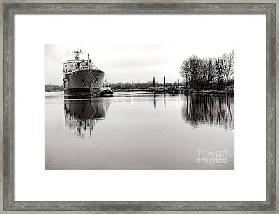 The Long Journey Home Framed Print by Olivier Le Queinec