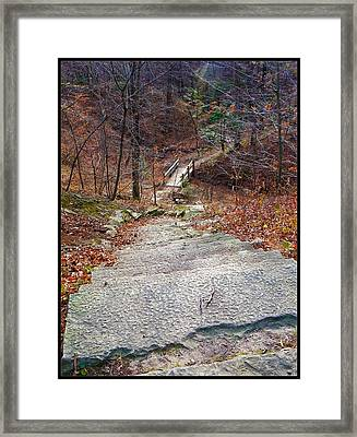 The Long Lonely Trail... Framed Print