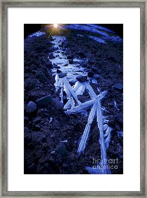 The Long Road Home Framed Print by The Stone Age