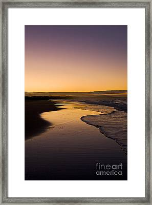The Long Road Framed Print by Nicole Doyle