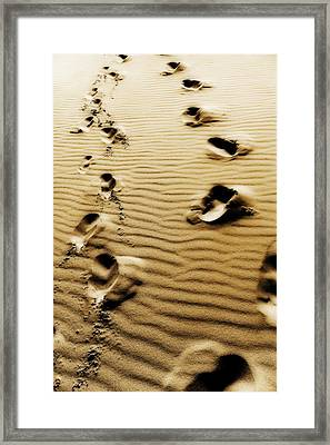 Framed Print featuring the photograph The Long Road To Love by Selke Boris