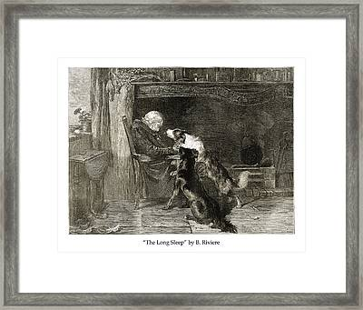 The Long Sleep Framed Print by Jared Bendis