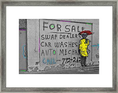 The Long Voyage Home Homage Framed Print by David Lee Guss