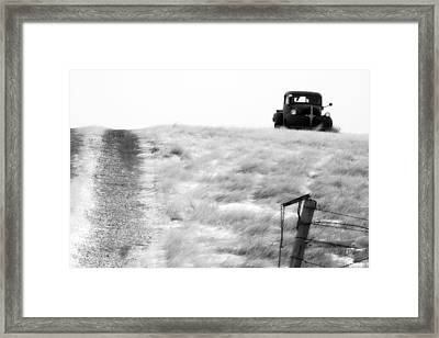 The Long Wait Framed Print