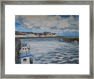 The Long Walk Galway Framed Print