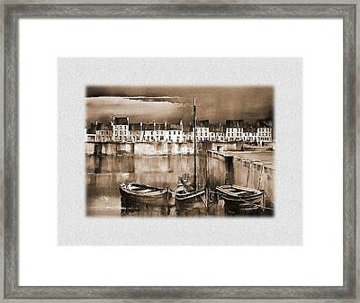 The Long Walk  Galwy Framed Print