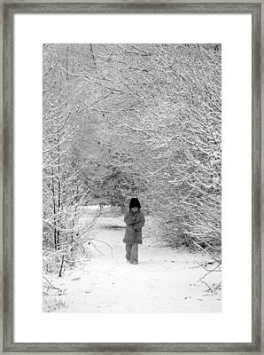 The Long Walk Home Framed Print by Andrew James