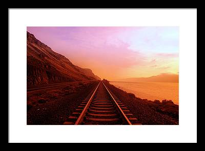 Soft Color Framed Prints