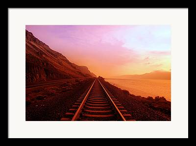 Train Framed Prints