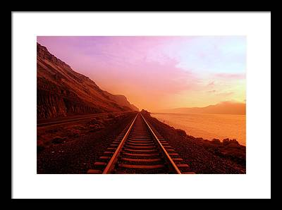 Trains Framed Prints