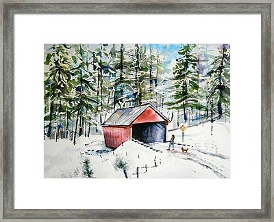 The Long Way Home Framed Print by Brian Degnon
