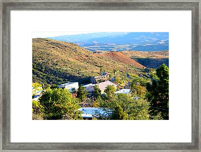 The Long Winding Road Framed Print
