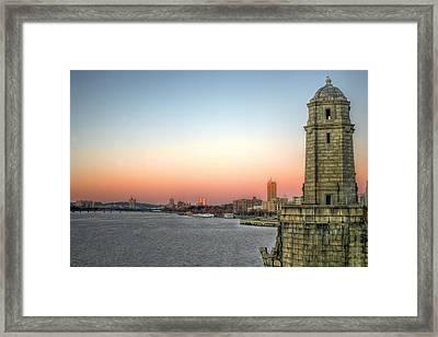 The Longfellow Bridge  Framed Print by JC Findley