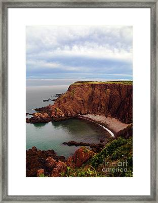 The Look Out... Framed Print