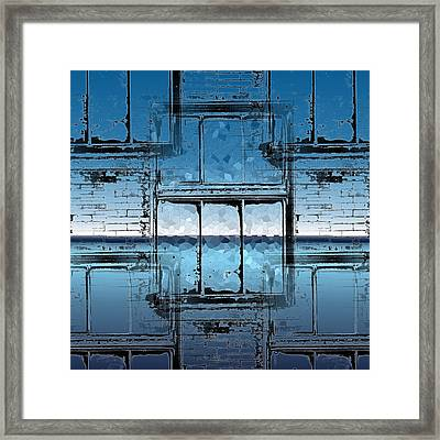 The Looking Glass Reprised Framed Print