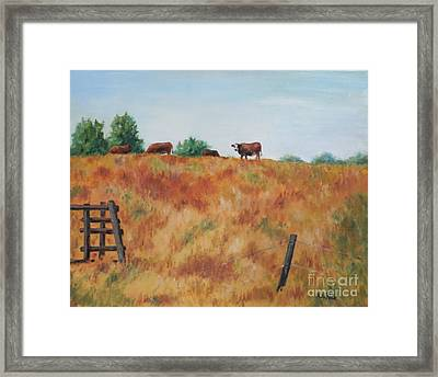 The Lookout Framed Print by William Reed