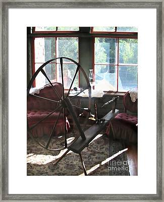 The Looming Silence Framed Print by Cristophers Dream Artistry