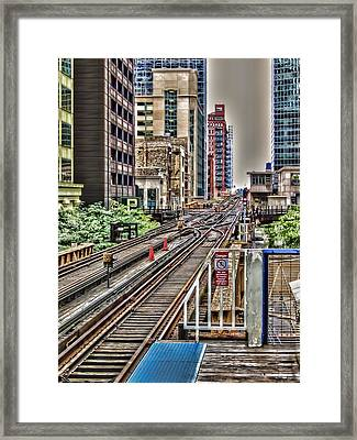 The Loop Framed Print