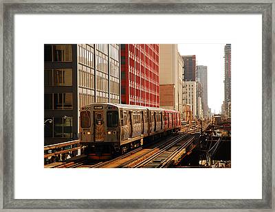 The Loop Framed Print by James Kirkikis