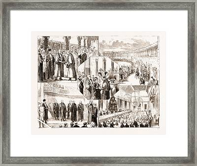 The Lord Mayor Of Londons State Visit To Bath Framed Print by Litz Collection