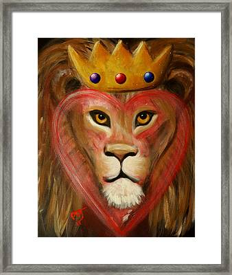 The Lord Of My Heart Framed Print by Pamorama Jones