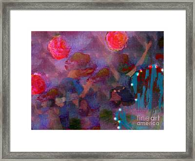 The Lord Thy God In The Midst Of Thee Is Mighty  Framed Print by Deborah Montana