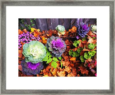 The Lord's Fall Carpet Framed Print