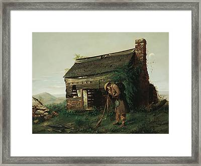 The Lost Cause Framed Print by Mountain Dreams