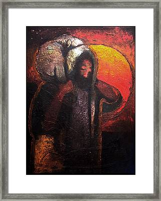 The Lost Sheep Framed Print by Daniel Bonnell