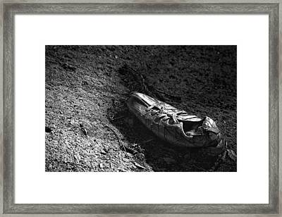The Lost Shoe Framed Print by Jason Politte