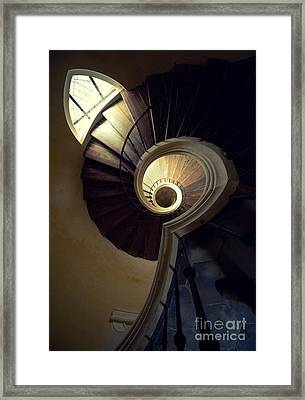 The Lost Tower Framed Print by Jaroslaw Blaminsky