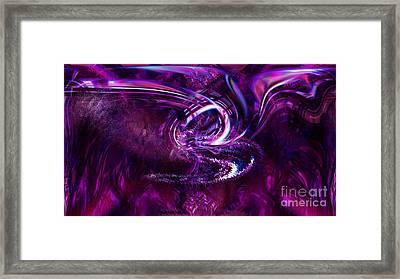 The Lotus Framed Print by Ashantaey Sunny-Fay