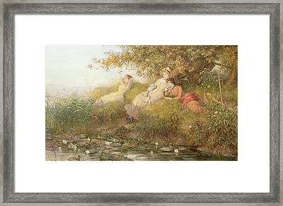 The Lotus Eaters, 1893 Framed Print