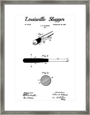The Louisville Slugger Framed Print by Dan Sproul