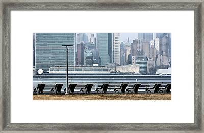 The Lounge Framed Print by JC Findley