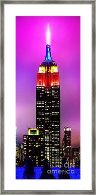The Love Empire Framed Print by Az Jackson