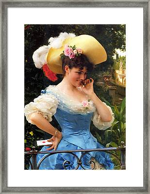 The Love Letter 2 Framed Print by Federico Andreotti