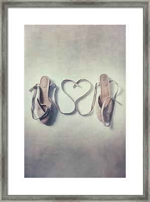 The Love Of A Ballerina Framed Print by Joana Kruse