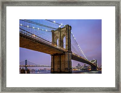 Framed Print featuring the photograph The Love Of Brooklyn  by Anthony Fields