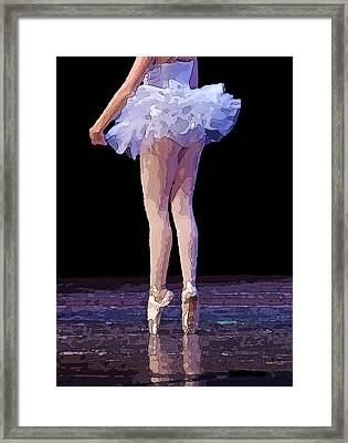The Love Of Dance Framed Print by Thomas Fouch