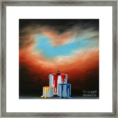 The Love Of Painting Framed Print
