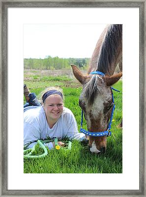 The Love Of Pets Framed Print by Tiffany Erdman
