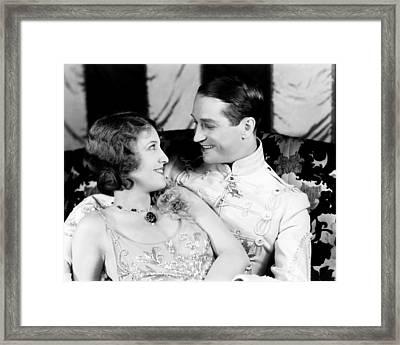 The Love Parade, From Left Jeanette Framed Print by Everett