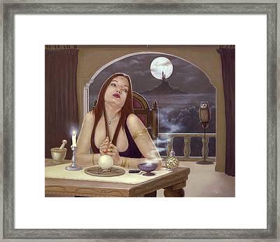The Love Spell Framed Print by John Silver