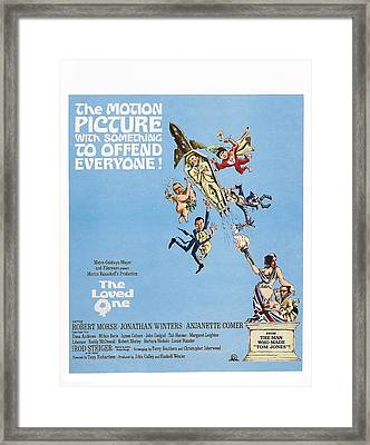 The Loved One, Us Poster Art, Top Framed Print by Everett