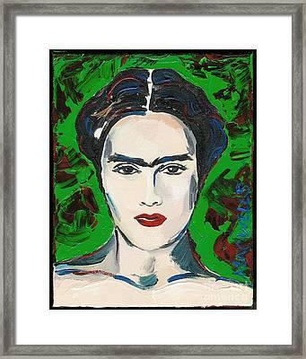 The Lovely Frida Kahlo Framed Print