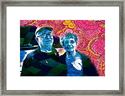 The Lovers Framed Print by Celestial Images