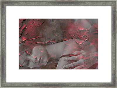 The Lovers Framed Print