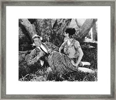 The Loves Of Carmen, From Left Victor Framed Print